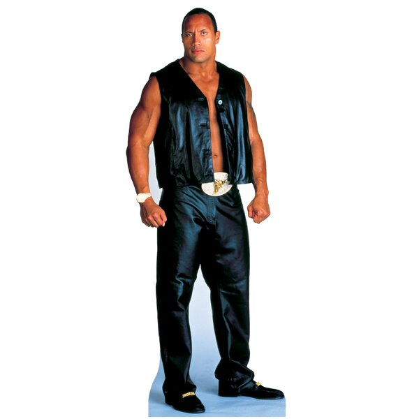 World Wrestling Entertainment - The Rock Life-Size Cardboard Stand-Up by Advanced Graphics
