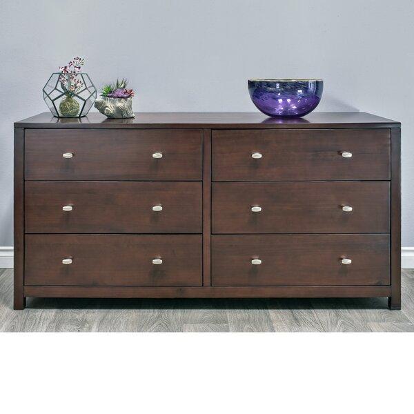 Parkrose 6 Drawer Double dresser by Epoch Design