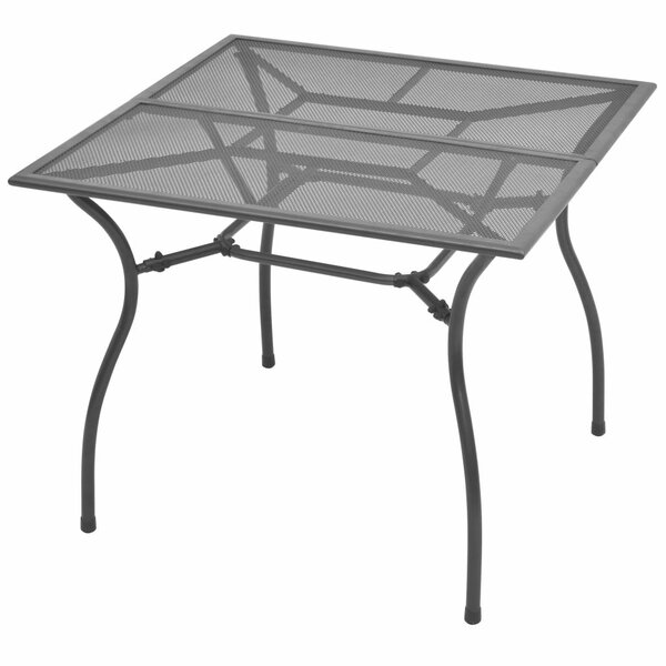 Moa Steel Dining Table By Winston Porter