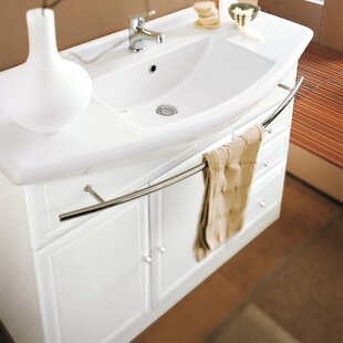 Archeda Ceramic Specialty Drop-In Bathroom Sink with Overflow Acquaviva