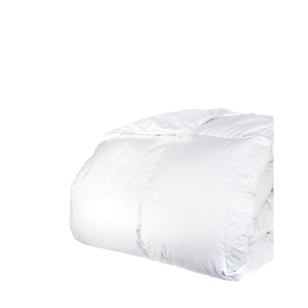 Down Alternative Diamond Cotton Shell Blanket by Melange Home