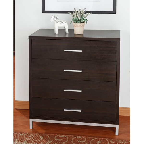 Calvin 4 Drawer Chest by Hokku Designs