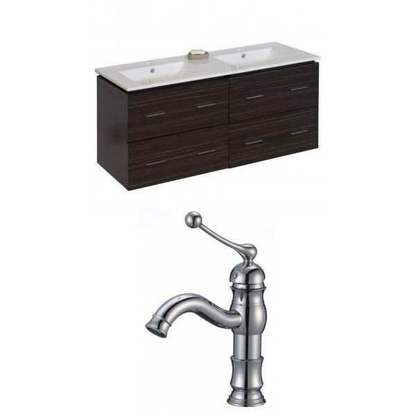 Kyra 48 Double Bathroom Vanity Set by Orren Ellis