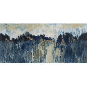'Mountain Sound' Painting Print on Canvas by Willa Arlo Interiors