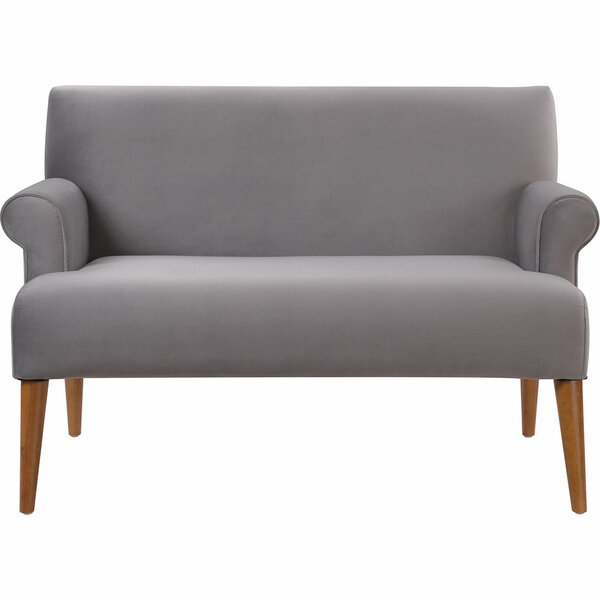 Satchell Roll Arm Settee by Bungalow Rose