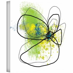 Citron Petals by Jan Weiss Graphic Art on Canvas by ArtWall