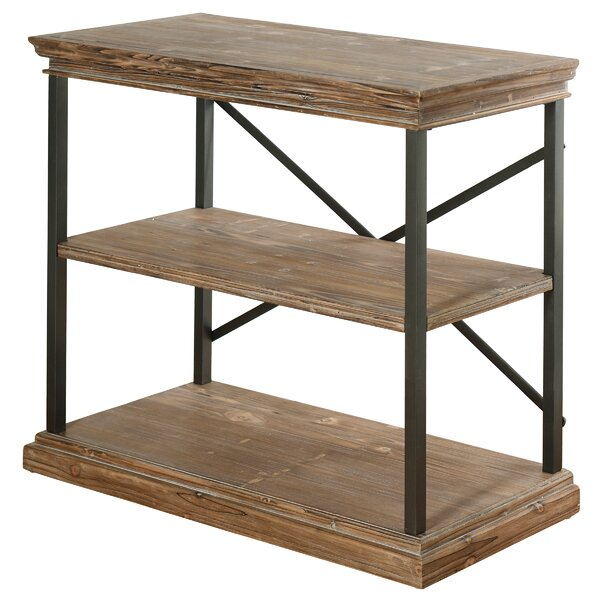 Wesley Standard Bookcase by Gracie Oaks