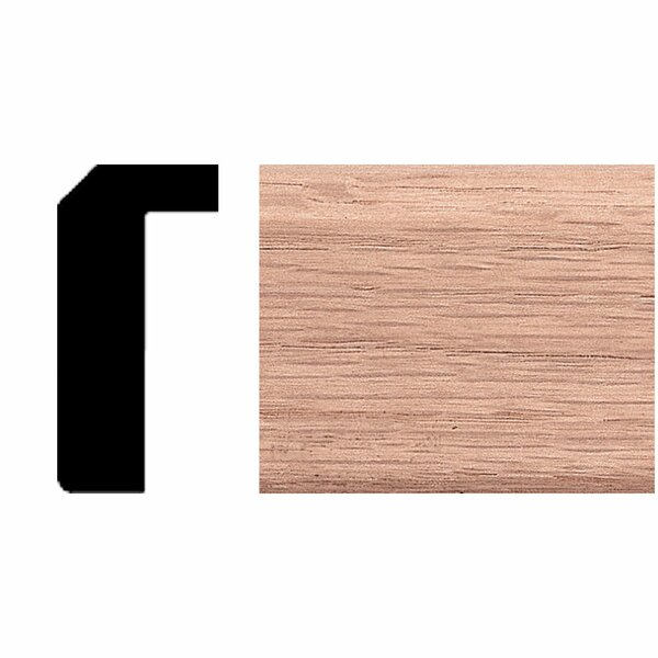 3/4 in. x 1-1/2 in. x 8 ft. Oak Counter Trim Moulding by Manor House