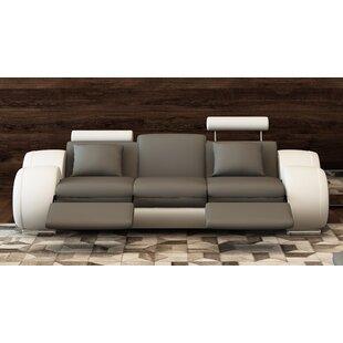 Behr Leather Reclining Sofa