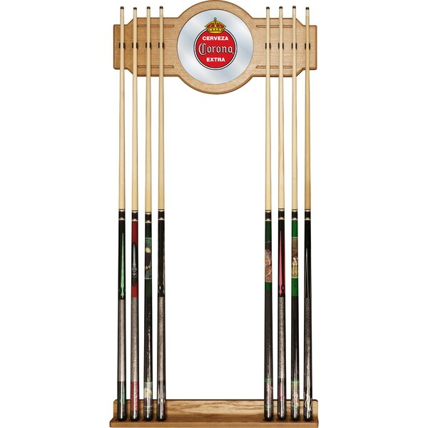 Corona Vintage Wall Cue Racks by Trademark Global
