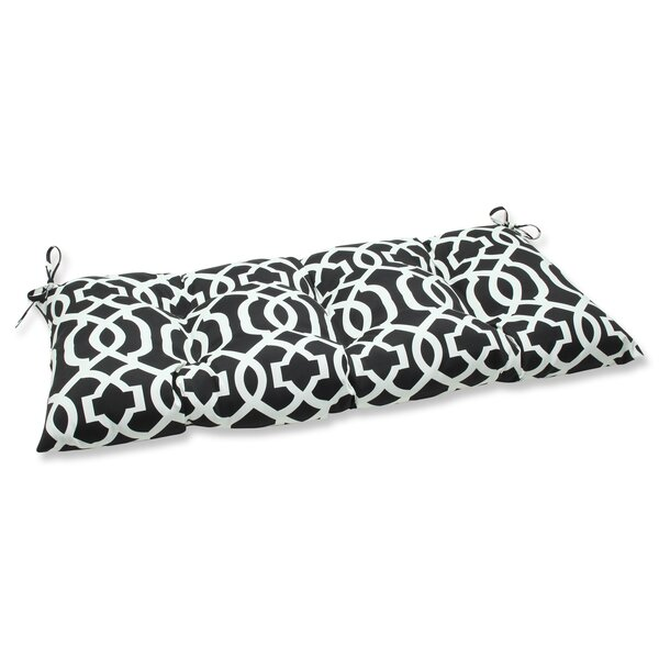 New Geo Indoor/Outdoor Loveseat Cushion by Pillow Perfect