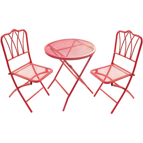 3-Piece Randolph Bistro Set by Jordan Manufacturing