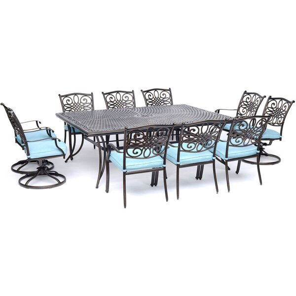 Rhymer Traditions 11 Piece Dining Set by Astoria Grand