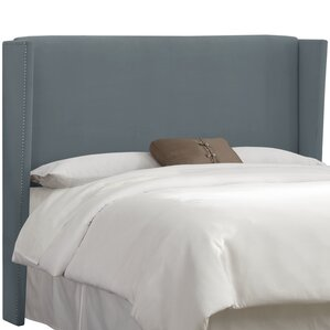 Keeter  Upholstered Wingback Headboard by Brayden Studio