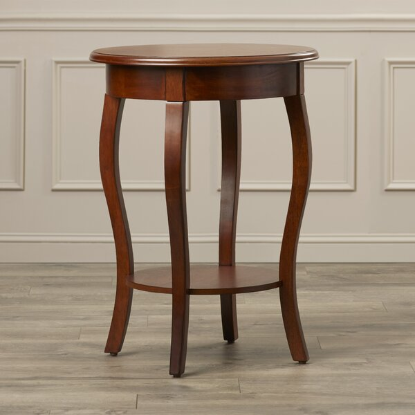 Hornebolt End Table by Alcott Hill