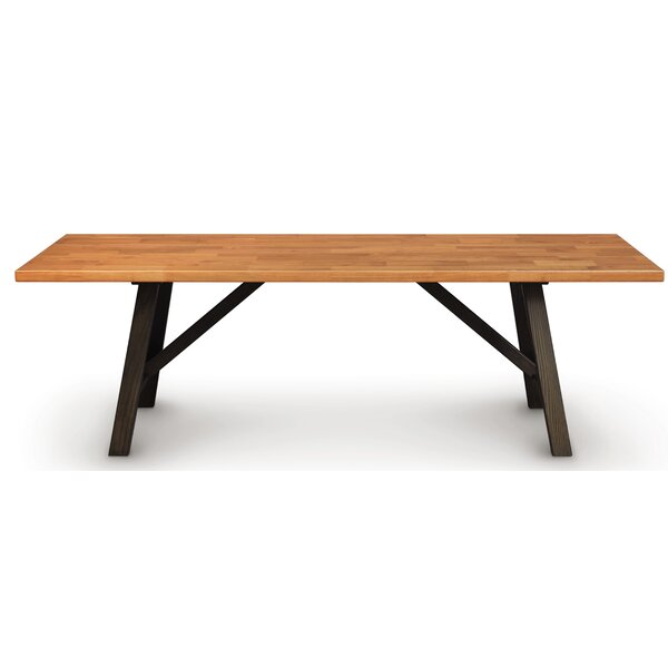Modern Farmhouse Solid Wood Dining Table by Copeland Furniture