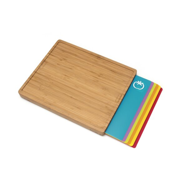 7 Piece Bamboo Cutting Board Set by Lipper International