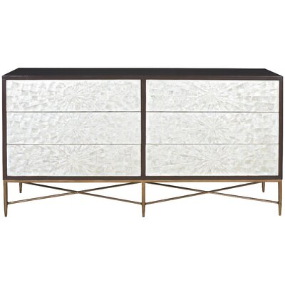 Adagio 6 Drawer Double Dresser Bernhardt