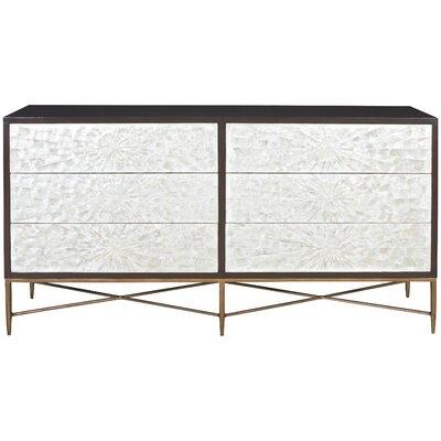 Adagio 6 Drawer Double Dresser Bernhardt