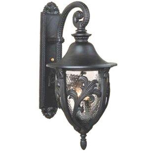 Reviews Phillipstown 4-Light Outdoor Wall Lantern By Alcott Hill