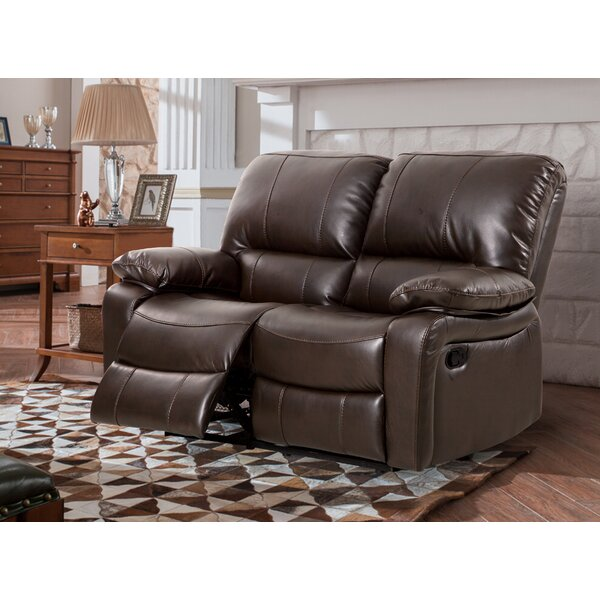 Get Great Koval Breathing Reclining Loveseat by Red Barrel Studio by Red Barrel Studio