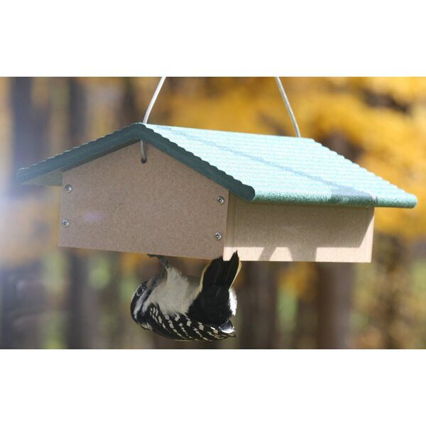 Recycled Upside Down Double Suet Bird Feeder by Birds Choice