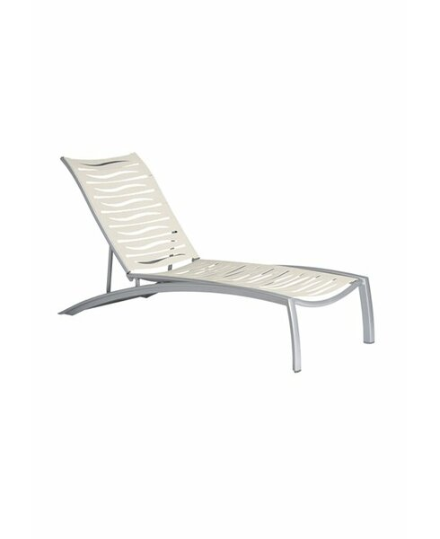 South Beach EZ Span™ Reclining Chaise Lounge by Tropitone