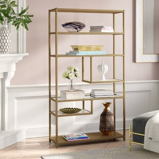 Clearance Selzer Geometric Etagere Bookcase By Mercer41