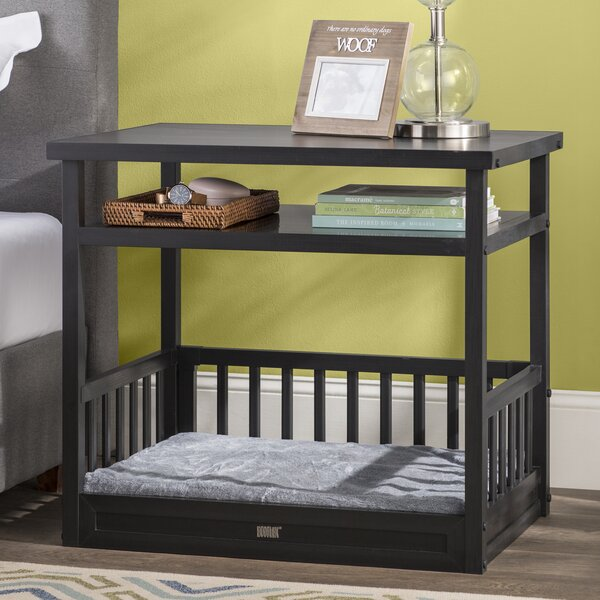 Echo Dog Bed with Nightstand and Cushion by Archie & Oscar