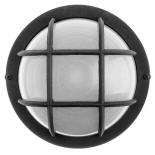 Affordable 1-Light Outdoor Bulkhead Light By Royal Cove