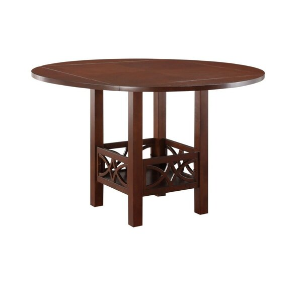Parkwoods Counter Height Solid Wood Dining Table by Winston Porter