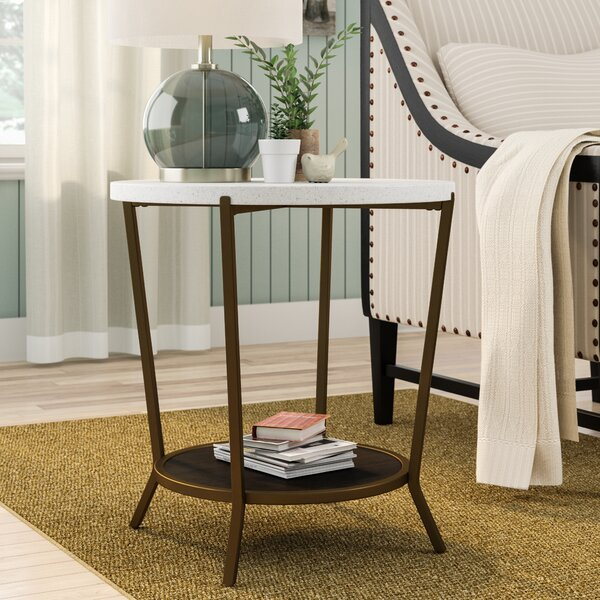 Massimo End Table By Mistana