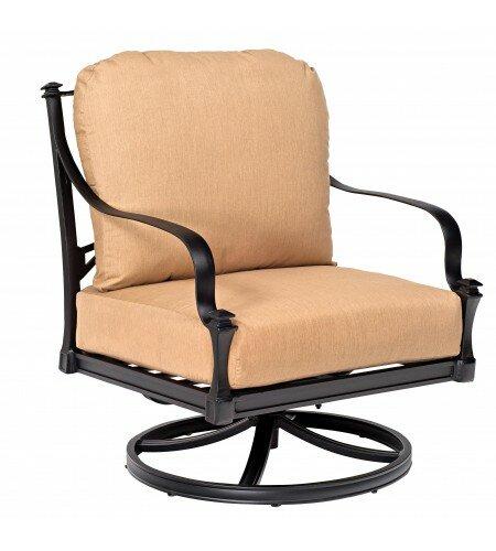 Woodard Isla Rocking Patio Chair With Cushions Wayfair