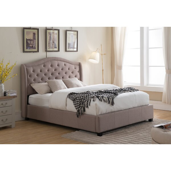 Longstaff Upholstered Standard Bed by Canora Grey