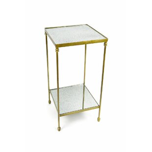 Jetta Iron End Table By House of Hampton