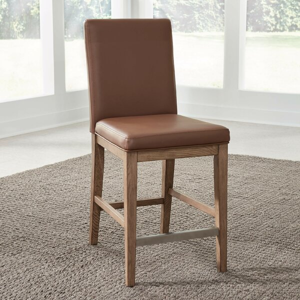 Kutsi 24.5'' Counter Stool by Gracie Oaks Gracie Oaks