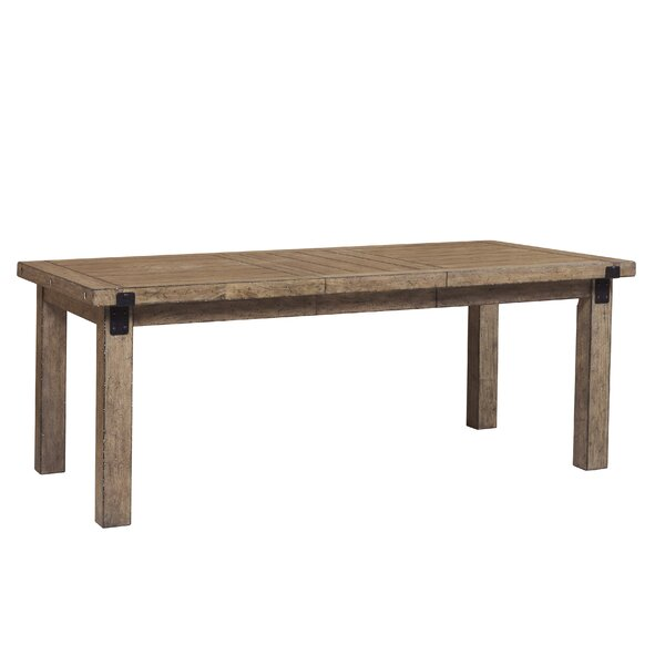 Fort Oglethorpe Extendable Dining Table by Laurel Foundry Modern Farmhouse