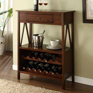 Beckham 14 Bottle Floor Wine Bottle Rack by Darby Home Co