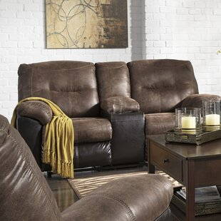 Elsmere Leather Reclining Sofa Latitude Run