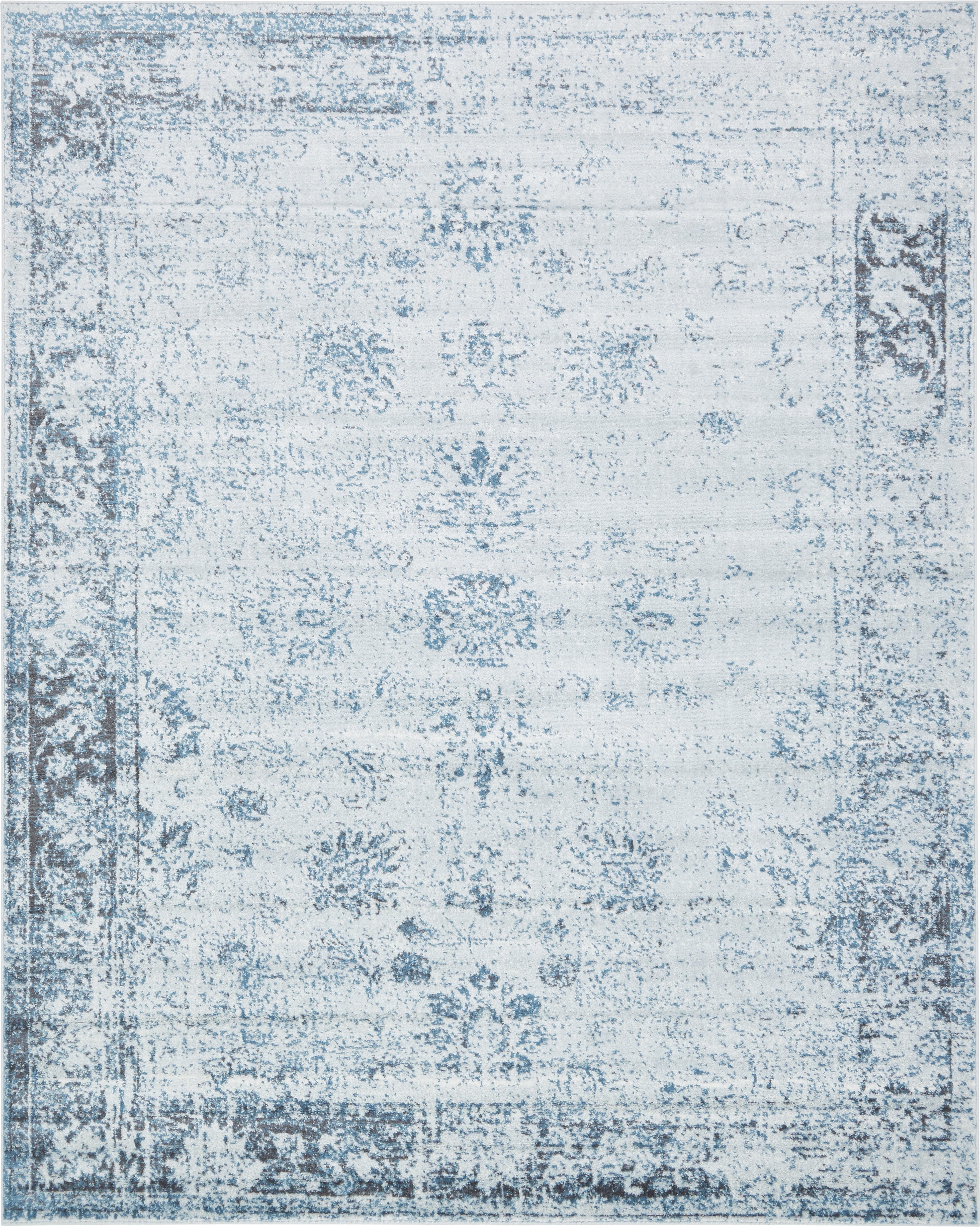 Mistana Brandt Light Blue Ivory Area Rug Reviews Wayfair