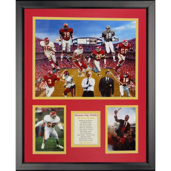 NFL Kansas City Chiefs - Chief Greats Framed Memorabili by Legends Never Die
