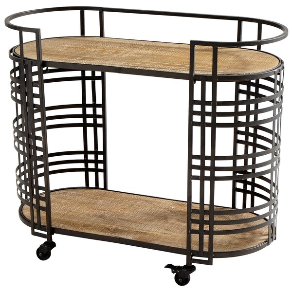 Banded About Bar Cart by Cyan Design
