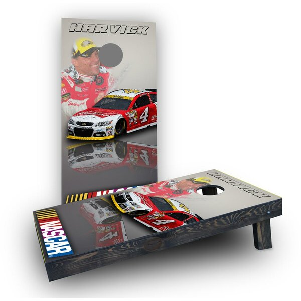 NASCAR (Kevin Harvick) Themed Cornhole Boards (Set of 2) by Custom Cornhole Boards