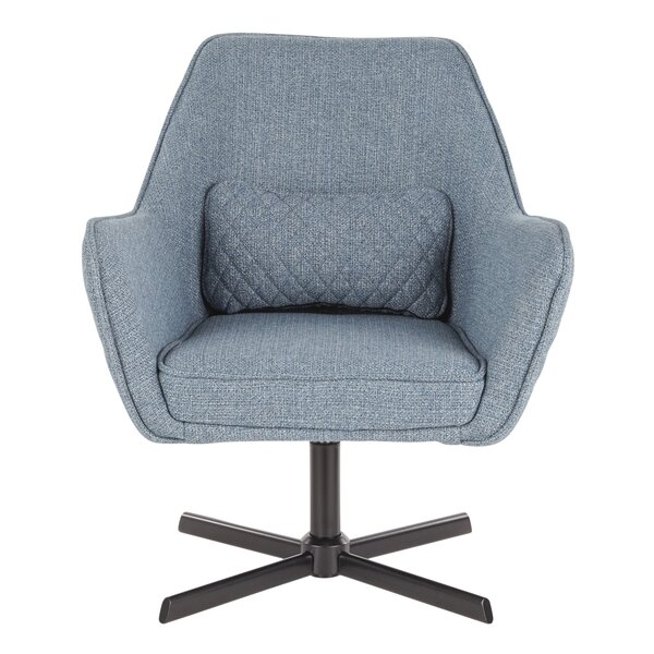 Curtis Swivel Armchair by Modern Rustic Interiors