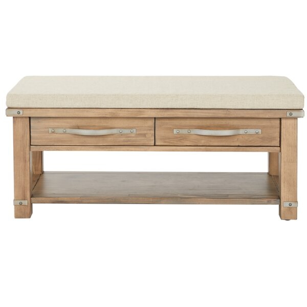 Linder Upholstered Storage Bench by 17 Stories