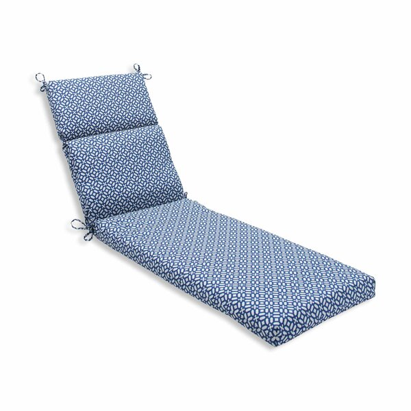 In the Frame Indoor/Outdoor Chaise Lounge Cushion by Pillow Perfect