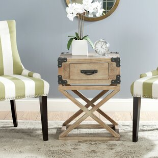 Elegant Agoura Hills Dunstan End Table With Storage Trent Austin Design Amazing ...