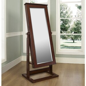 Cheval Jewelry Armoire with Mirror by Powell Furniture