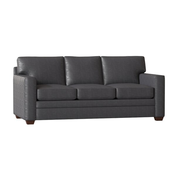 Top Recommend Carleton Leather Sofa by Wayfair Custom Upholstery by Wayfair Custom Upholstery��
