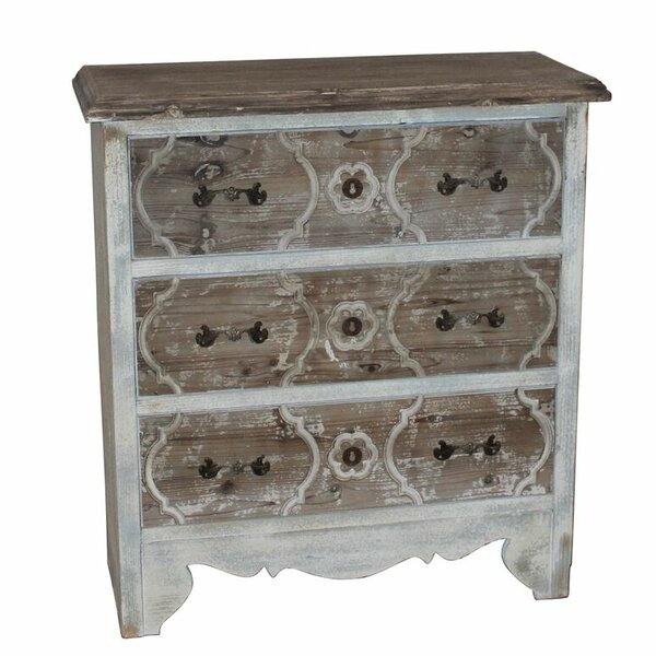 Philip 3 Drawer Chest by Bungalow Rose